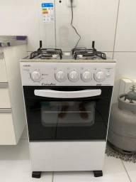 Vendo fogão Esmaltec 4 bocas automático extra - 2 meses de uso