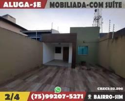 Ótima Casa Mobiliada Com Suíte e Closet-Próximo ao Shopping Avenida-Bairrosim
