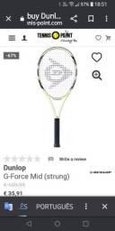 Para desocupar lugar, Raquete de tênis Dunlop Force L3 4 3/8, cabeça 98