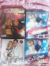 Cds e DVDs Banda Calypso