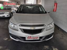 Gm Chevrolet/ Onix LT - 2013/2014 - Flex - Prata