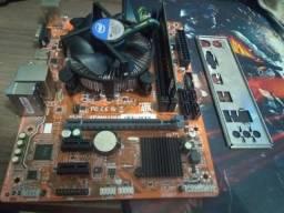 Kit g4400 4gb hyperx placa mae h110 setima geraçao