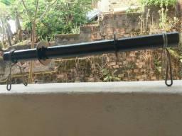 Halter Maciço Barra 40cm +2 Presilhas