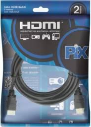 Cabo HDMI x HDMI 1.4 4k 2 M PIX