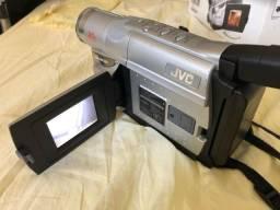 JVC filmadora antiga retro