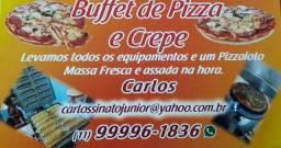 Buffet A Domicílio: Pizza, Crepe e Churrasco