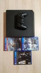 PlayStation 4 slin 1 tera de HD Leia a descrição