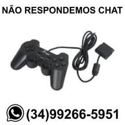 Entrega Grátis * Controle PlayStation 2 PS2 COM fio * Chame no Whats