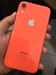 Apple iPhone XR 128gb Coral Impecavel com garantia
