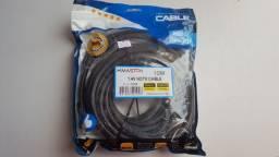 Cabo HDMI 10 metros Blindado 4K (Produto Novo)10mt
