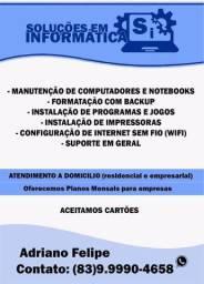 Formatação DE Computador/Notebook - Promoção