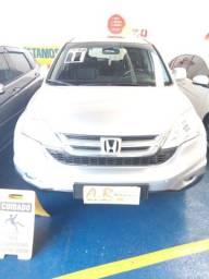 Honda/ Cr-v Exl 2.0 16v C/ Teto 2011/2011 Couro Prata Aut