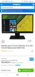 "Monitor Acer 22"" FULL HD"