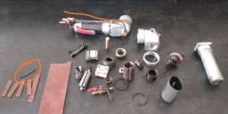 Manutenção em equipamentos pneumáticos.