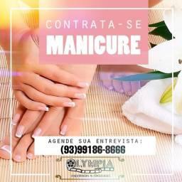 Contrata se Manicure