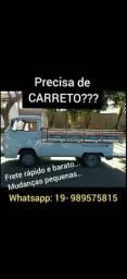 Fretes e carretos a partir 70 reais