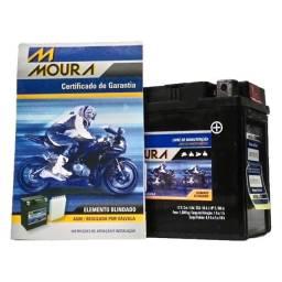 Bateria moura para motos R6 R1 hornet cbr1000 ma8,6-e entregamos em todo rio