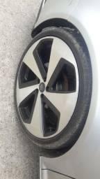 Jogo de roda aro 20 5x100 pneus 225/35