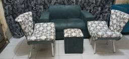 """Kit sofá de 2lugares """"FRETE GRÁTIS"""""""