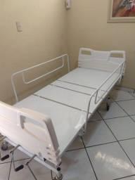 Cama Hospitalar Fawler 3 Manivelas Com Elevação