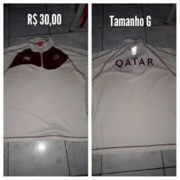 Camisa  vôlei de praia Qatar / Loja No Anil.