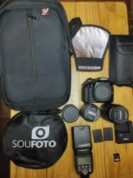 Canon T6 + kit fotografia