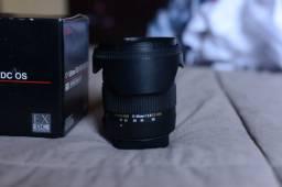 Lente Sigma 17-50mm F/2.8 Ex Dc Os Hsm (nikon) Semi-nova