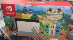 Nintendo Switch Versão Animal Crossing Lacrado