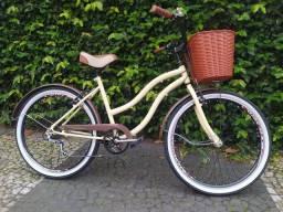 Bicicleta vintage 6 marchas