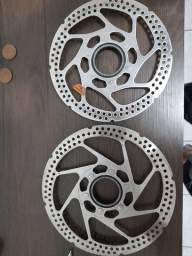 Vendo rotores shimano centerlock  180/160mm (usado)