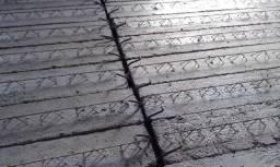 Laje Pré-Moldada Treliçada Reforçada (sem tijolos)