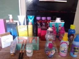 Perfumes, hidratante,kits,roupas e outros