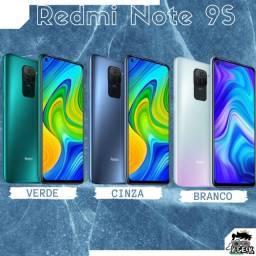 Redmi Note 9S 64gb e 128gb - 4gb e 6 gb de RAM | Versão global | 6 meses de garantia