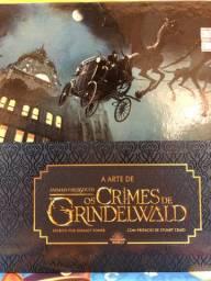 Livro animais fantásticos os crimes de Grindelwald