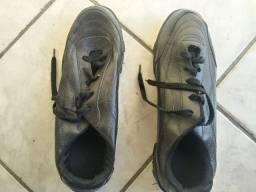 Sapato de trabalho couro legitimo numero 46