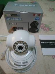 Camera filmadora wi-fi.       140.00