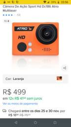 Câmera de Ação Sport HD ATRIO