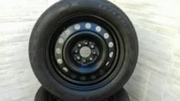 Jogo rodas aro 15  Fiat marea