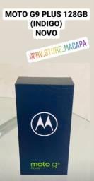 MOTO G9 PLUS 128GB NOVO, ACEITO CARTÃO