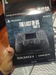 Controle PS4 Edição Especial Last of US II