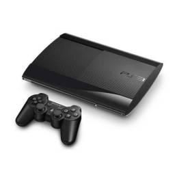Vendo PS3 - Slim HD 250Gb + Controle + 32 Jogos