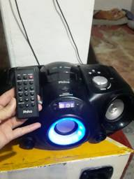 Vendo som com controle pega cartão de memória blutuff radio cd