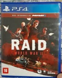 JOGO PS4 - RAID WORLD  WAR II