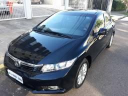 Honda/civic lxs 1.8 2013 flex