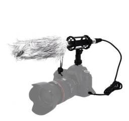 Microfone Shotgun profissional Boya BY-PVM 1000L