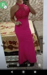 Vestido de festa.. usado apenas uma vez