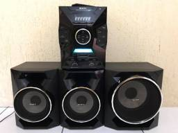 Mini Hi Fi System 1600 W with Remote Control MHC-GZX55D