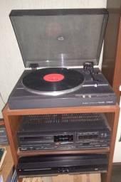 Aparelho de som - Toca discos e Receiver