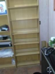 Estante Mdf livraria, papelaria, bazar e etc.