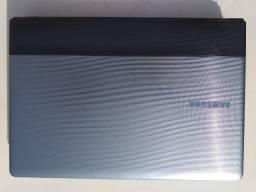 Carcaça Samsung 300e Com Teclado Touchpad Dobradiças